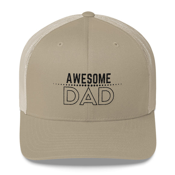 Awesome Dad - Trucker Cap