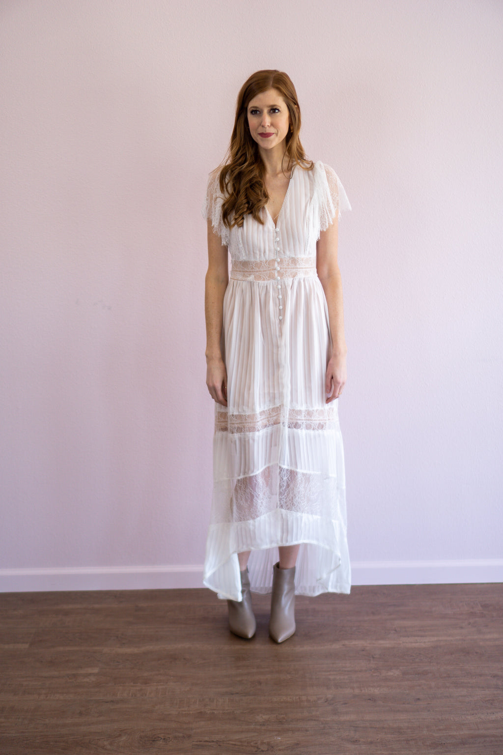 Mazie Lace Maxi Dress