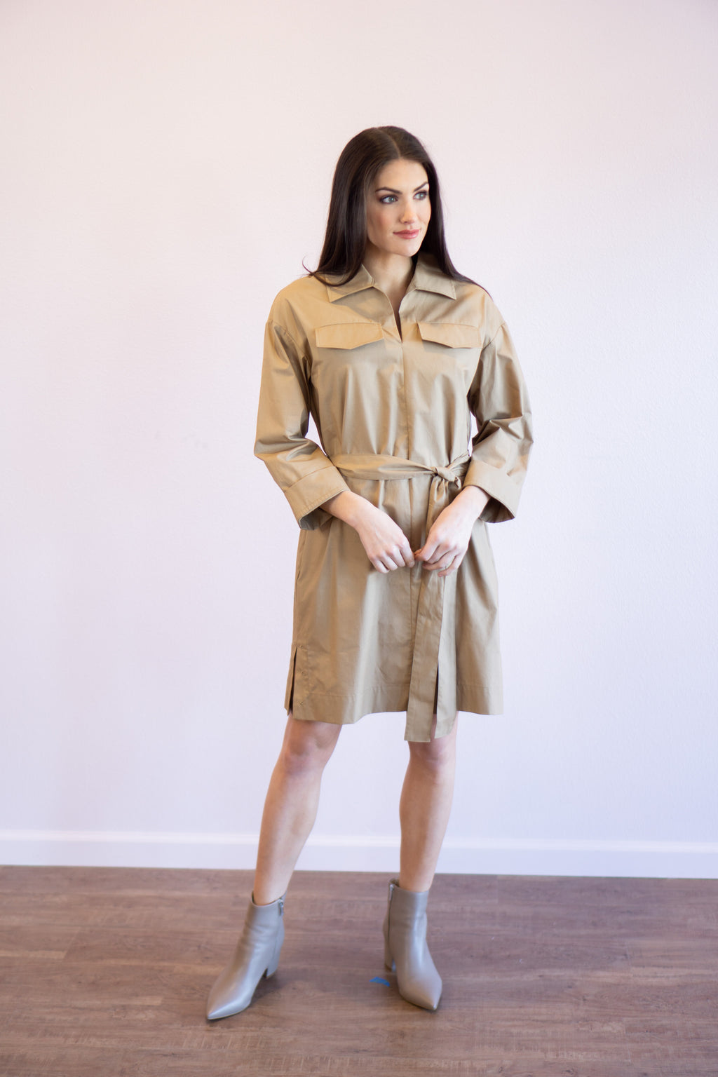Briella Linen Dress