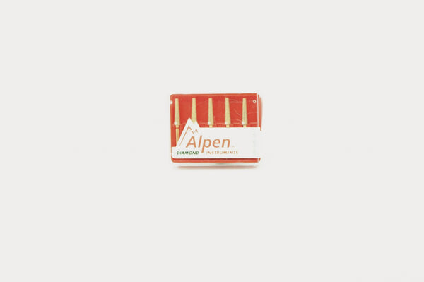 Alpen 023 Diamond Flat End Taper (5/pkg)