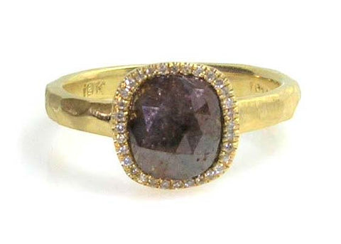 Rustic Diamond ring,