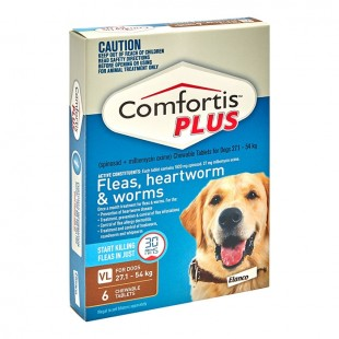 COMFORTIS PLUS BROWN FOR XLARGE DOGS 27.1  -54KG (3 PACK)