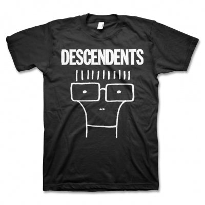 Descendents Milo on Black Mens Tshirt
