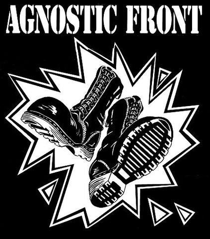 Agnostic Front Boots Printed Patche