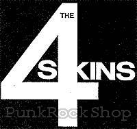 4-Skins Logo Printed Patche