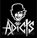 Adicts The Monkey Cartoon Logo Printed Patche