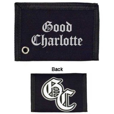 Good Charlotte Canvas Wallet Purses and Wallet