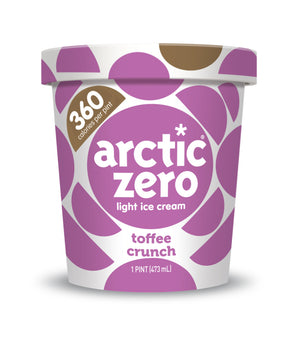 Arctic Zero Light Ice Cream - Toffee Crunch