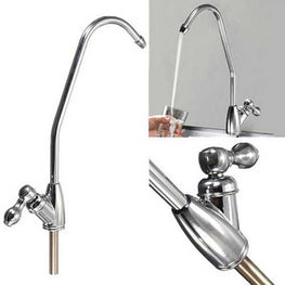 Chrome Finish Water Filter Faucet Single Handle Drinking Water Tap