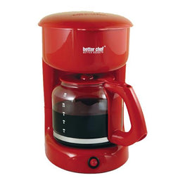 Better Chef 12-cup Red Coffeemaker