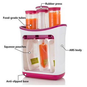 Supa Squeeze DIY Food Station, Food Maker - All Things Babies