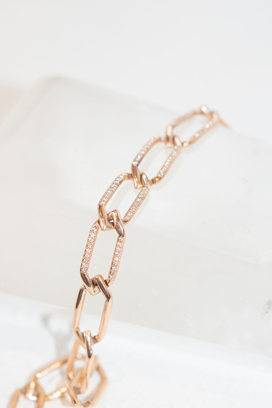Chain Link Choker in 14k Gold