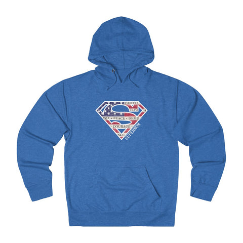 Supermom | Women's French Terry Hoodie | 6 Colors - Baby Pea Clothing Fashion for Babies & Kids of all ages