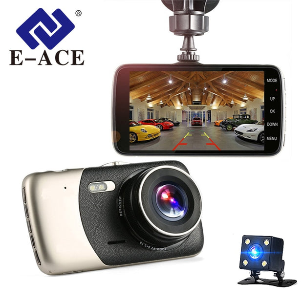 E-ACE DashCam - Rear View Camera - Night Vision DVRs  Toffee Tops Gear