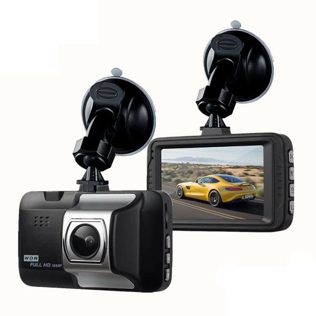 DashCam  - 1080P HD Recorder - 140 Wide Angle - G-Sensor  Toffee Tops Gear