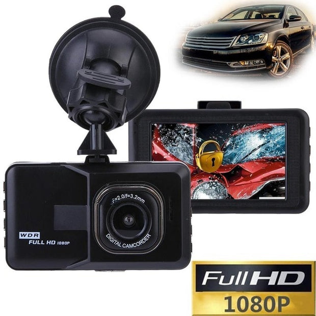 Car DVR DashCam Full HD 1080P 120 Degree  Toffee Tops Gear