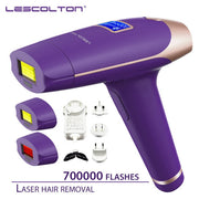 HAIR REMOVAL - Lescolton 3-in-1, 700,000 pulsed IPL Laser Hair Removal - Permanent - Armpit Hair Removal  Toffee Tops Gear