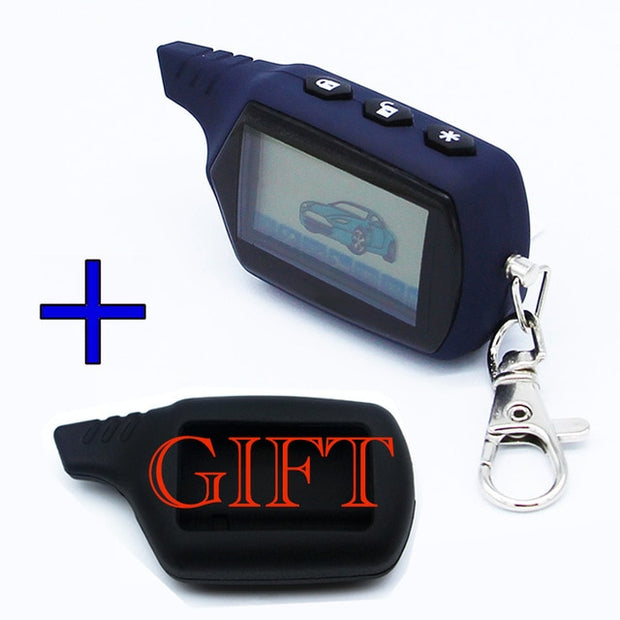 A91 Keychain Engine Starter Car Anti-theft Alarm System  Toffee Tops Gear