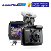 AZDOME GS63H Dash Cam Dual Lens - Rear View Camera - Night Vision  Toffee Tops Gear