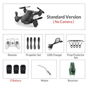 Eachine E61/E61hw Mini Drone With/Without HD Camera Hight Hold Mode RC Quadcopter RTF WiFi FPV Foldable RC Drone  Toffee Tops Gear