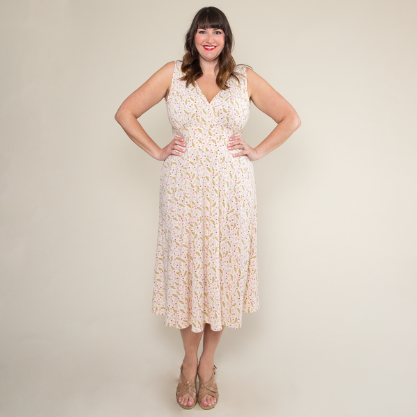 Abigail Dress in Field of Dreams by Karina Dresses
