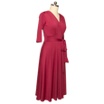 Margaret Dress in Raspberry by Karina Dresses