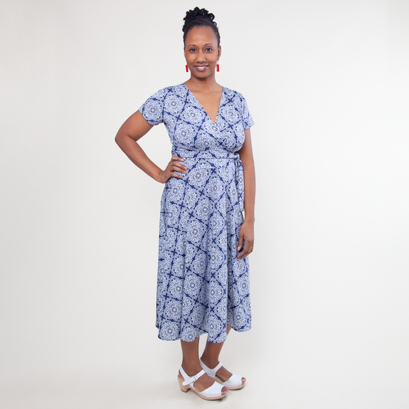 Margaret Dress in Darjeeling by Karina Dresses