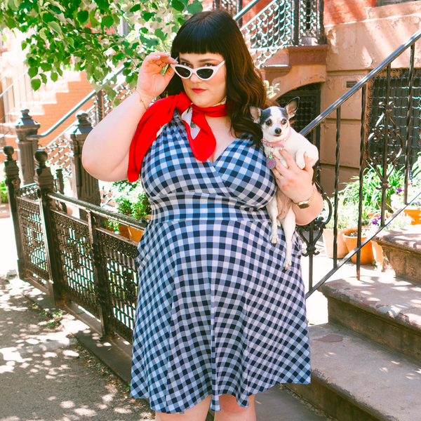 Nora Dress in Gingham by Karina Dresses