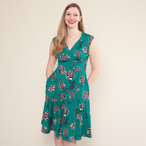 Nora Dress in Secret Garden by Karina Dresses
