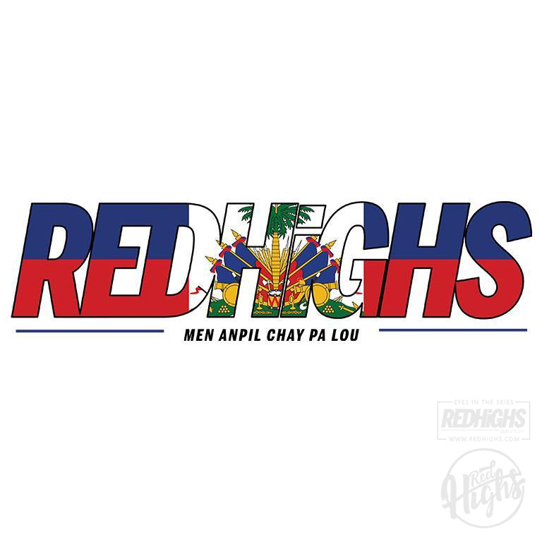 women tshirt - red highs ayiti - navy-Women's T-Shirts-Red Highs-redhighs-streetwear-clothing