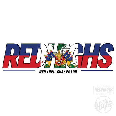 women tshirt - red highs ayiti - white-Women's T-Shirts-Red Highs-redhighs-streetwear-clothing