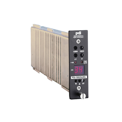 PDI-50121AMS 860MHz SAW Filtered 134 Channel 50dBmV Frequency Agile Mini Stereo Modulator