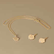 Load image into Gallery viewer, The Mini Shell Necklace | Hortense Jewelry - affordable designer necklaces, handcrafted ethical necklaces, exquisite gold necklace