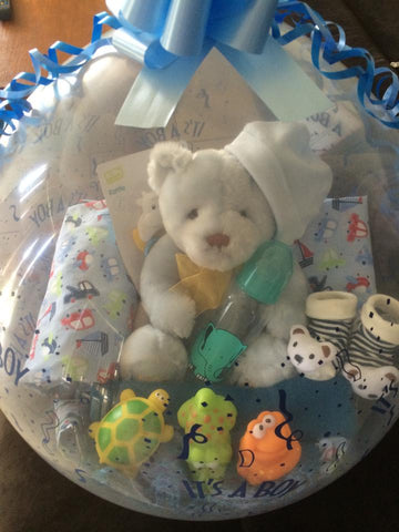 Baby Boy Balloon #02