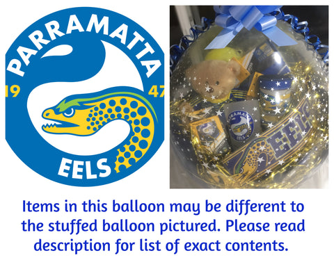 Eels Nrl Stuffed Balloon #02