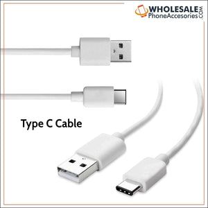Factory China Supplier White Type C USB 3.1 Data Charging Cable for Type C Devices Cheap Price Wholesale USA Distributor