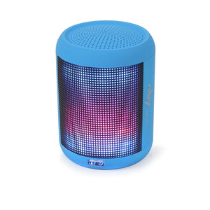 NBY 003 Mini Portable FM Bluetooth Speaker Wireless wiht colorful LED lights