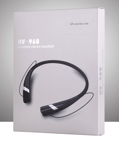 Hv-960 Sweatproof Earbuds for Bluetooth Devices Wireless Headphone Neckband Headsets Sport Cheap China
