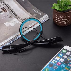 HV-930 Wireless Sports Hands-free Neckband Headphones Earphones for iPhone Samsung other Bluetooth Device