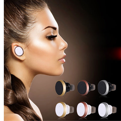 Colourfull Bluetooth M91 Headphone Wireless Headset Mini Earphone Handsfree Earbuds Suilt for Both Right and Left Ear for Android IOS Phones