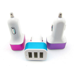 Wholesale China Supplier 3.1A 3 USB Port Car Charger Bulk Lots