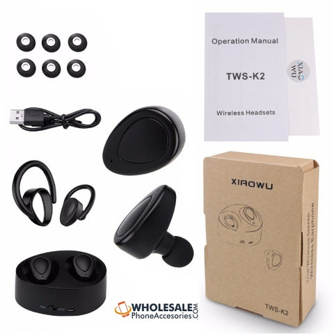 China Supplier K2 Bluetooth Earphones Cheap Price Wholesale USA Distributor Factory Bulk Lots  Manufacturer