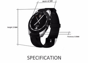 NO.1 G5 Smart Watch Heart Rate Monitor Fitness Tracker
