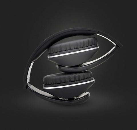 Latest BT-990 Headband Bluetooth Wireless Headphone Stereo Foldable Adjustable Length Voice Prompt