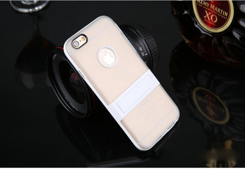 Image of Wholesale Supplier OEM Tpu hybrid stand case Bulk lots Cheap price 4
