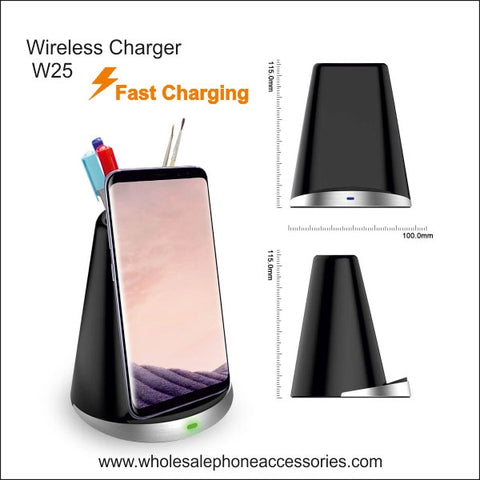 Wholesale China Factory Supplier Wireless Charger W25 Cheap Price usa Distributor