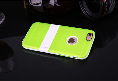 Image of Wholesale Supplier OEM Tpu hybrid stand case Bulk lots Cheap price 5