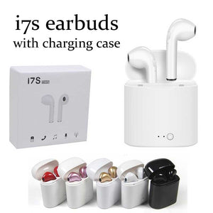 HBQ i7s TWS Twins Wireless Bluetooth earbuds with Charging Case