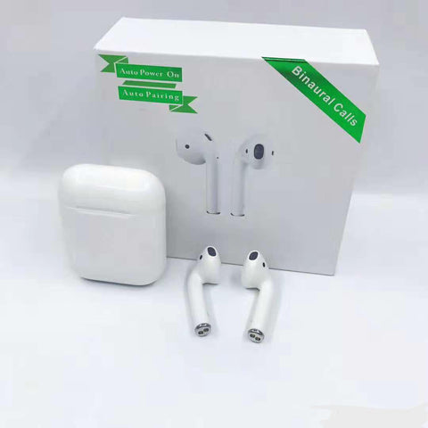 M9x Twins TWS Wireless Bluetooth V5.0 AirPods replica 1:1 Same Size Auto Connect