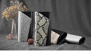 Leopard printed Wallets